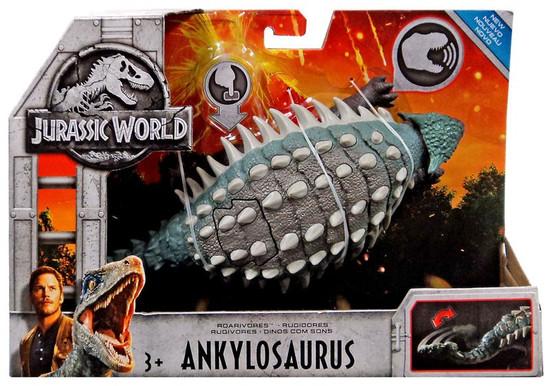 Jurassic World Fallen Kingdom Roarivores Ankylosaurus Action Figure