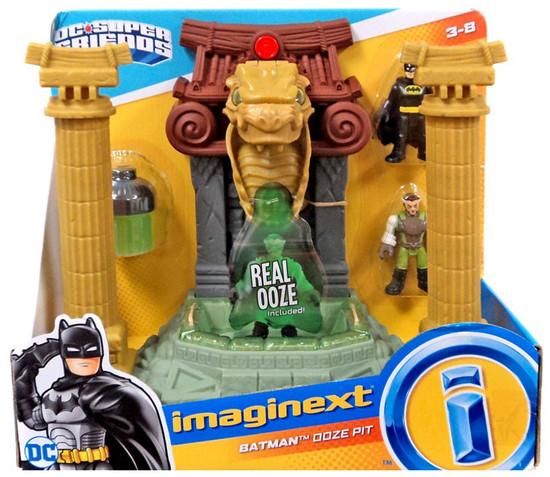 Fisher Price DC Super Friends Imaginext Batman Ooze Pit Playset