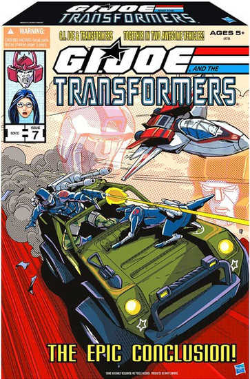 Transformers GI Joe V.A.M.P. Hound & Skystriker Jetfire Exclusive Action Figure Set