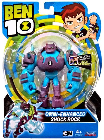 Ben 10 Basic Omni-Enhanced Shock Rock Action Figure