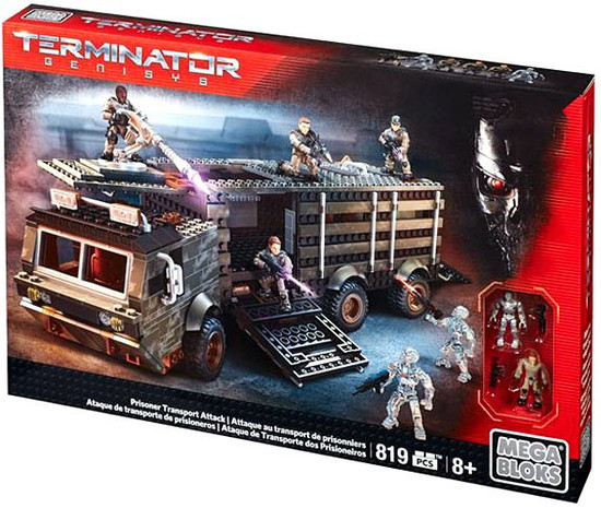 Mega Bloks Terminator Genisys Prisoner Transport Attack Set