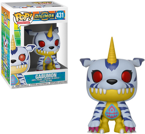 Funko Digimon POP! Animation Gabumon Vinyl Figure #431