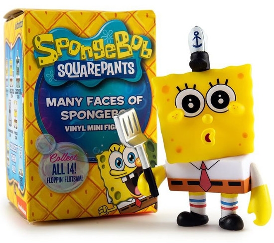 Nickelodeon Spongebob Squarepants Many Faces of Spongebob 3-Inch Mystery Pack [1 RANDOM Figure]