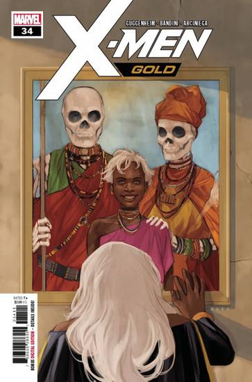 Marvel Comics X-Men Gold #34 Comic Book