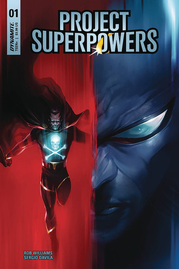 Dynamite Entertainment Project Superpowers #1 Comic Book