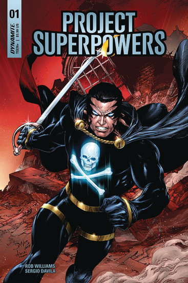 Dynamite Entertainment Project Superpowers #1 Comic Book [Cover B]