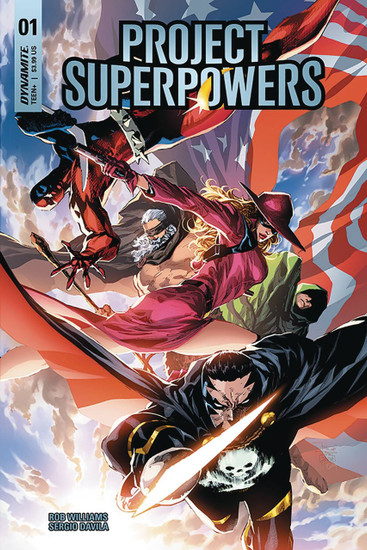 Dynamite Entertainment Project Superpowers #1 Comic Book [Cover D]