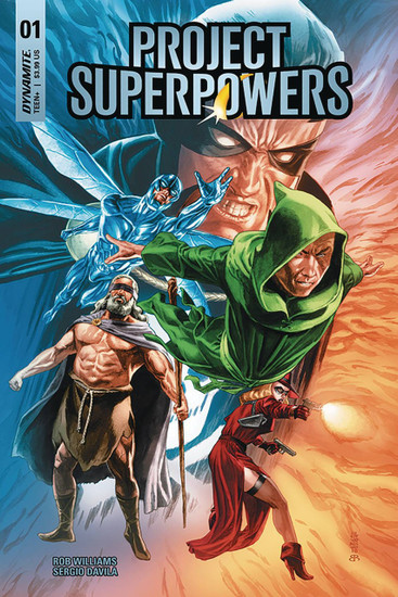 Dynamite Entertainment Project Superpowers #1 Comic Book [Cover E]