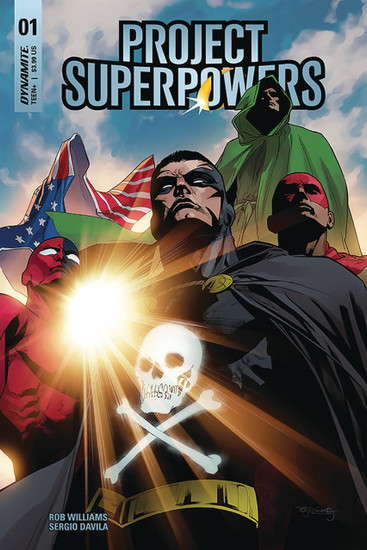 Dynamite Entertainment Project Superpowers #1 Comic Book [Cover F]