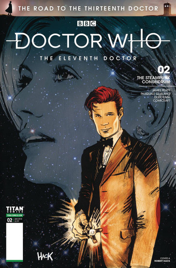 Titan Comics Doctor Who The Road to The Thirteenth Doctor #2 The Eleventh Doctor Comic Book