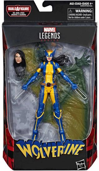 Wolverine Marvel Legends Sauron Series X-23 Action Figure