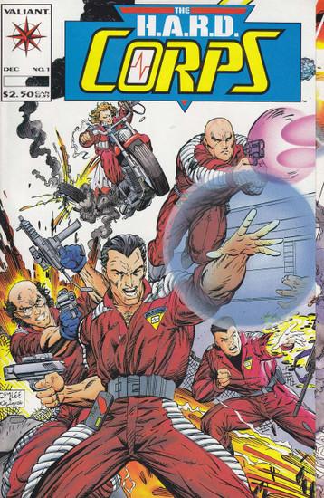 Valiant Comics The H.A.R.D Corps #1 Comic Book
