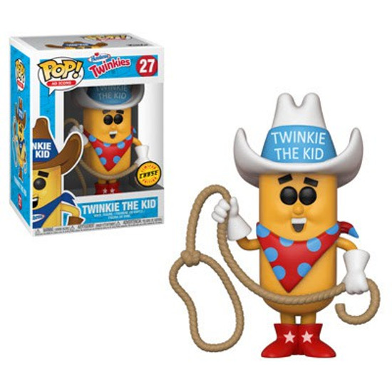 Funko Hostess POP! Ad Icons Twinkie the Kid Vinyl Figure #27 [White Hat, Chase Version]