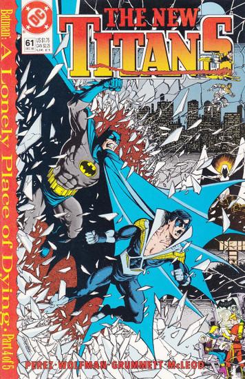 DC The New Titans #61 Comic Book