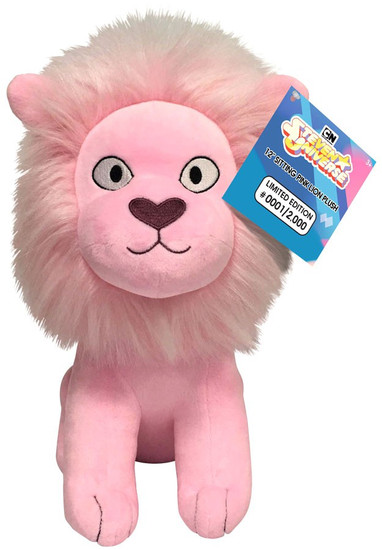 Steven Universe Sitting Pink Lion Exclusive 12-Inch Plushie