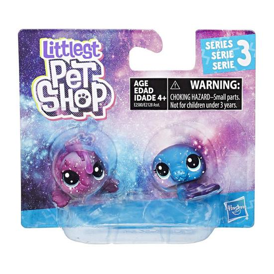 Littlest Pet Shop Cosmic Orbit Manati (Manatee) & Solara Anglerton (Fish) Figure 2-Pack [Aquatic]