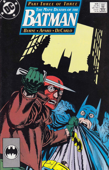 DC Vol. 1 #435 The Many Deaths of The Batman Comic Book