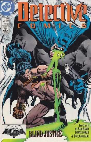 DC Detective Comics #599 Comic Book
