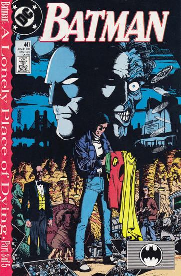DC Vol. 1 Batman #441 Comic Book
