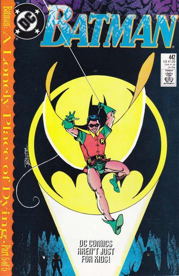 DC Vol. 1 Batman #442 Comic Book [1st Tim Drake as Robin]