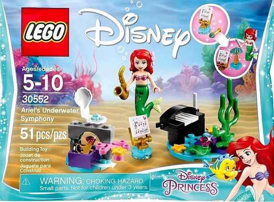 LEGO Disney Princess Ariel's Underwater Symphony Mini Set #30552