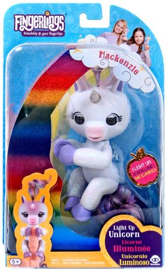 Fingerlings Baby Unicorn Mackenzie Exclusive Figure [Light-Up]