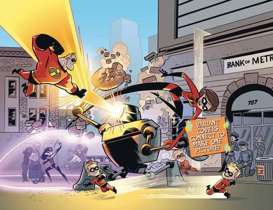 Dark Horse Disney The Incredbles 2 #1 Comic Book [Cover B]
