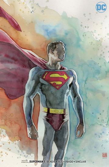 DC Superman #1 Comic Book [Mack Variant]