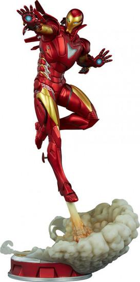 Marvel Artist Series Iron Man Extremis Mark II 21.5-Inch Statue