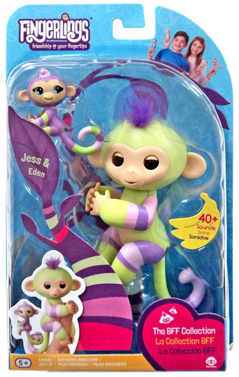 Fingerlings Baby Monkey Jess & Eden Figure [The BFF Collection]