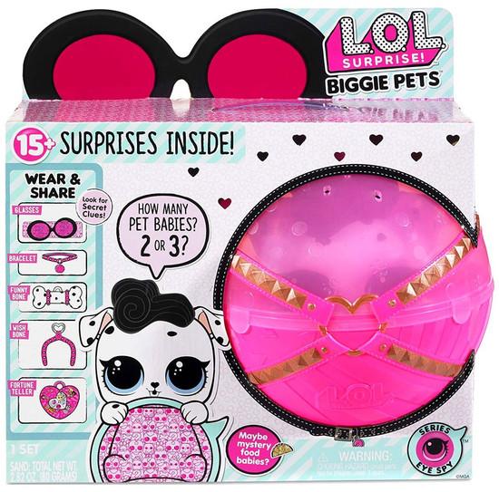 LOL Surprise Series 4 Eye Spy Dollmation Biggie Pets
