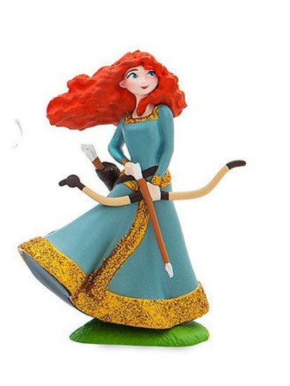 Disney Princess Brave Merida with Bow Exclusive 3-Inch PVC Figure [Glitter Loose]