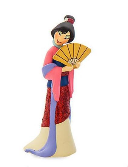 Disney Princess Mulan in Formal Costume Exclusive 3-Inch PVC Figure [Glitter Loose]