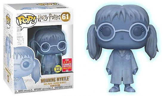 Funko Harry Potter POP! Movies Moaning Myrtle Exclusive Vinyl Figure [Glow-in-the-Dark]