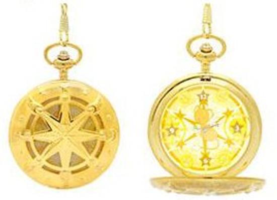 Cardcaptor Sakura Cerberus (Kero-Chan) Pocket Watch [Gold]