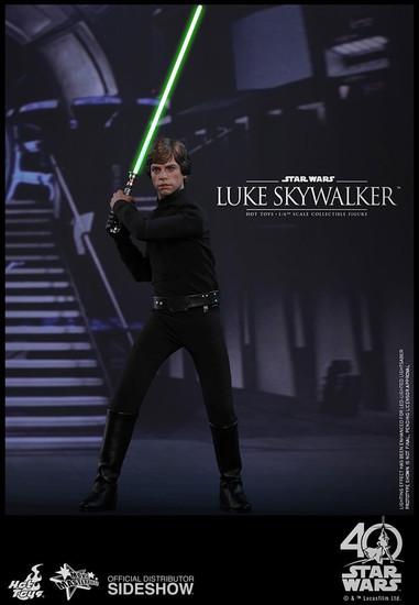 Star Wars Return of the Jedi Movie Masterpiece Luke Skywalker Collectible Figure [Return of the Jedi]