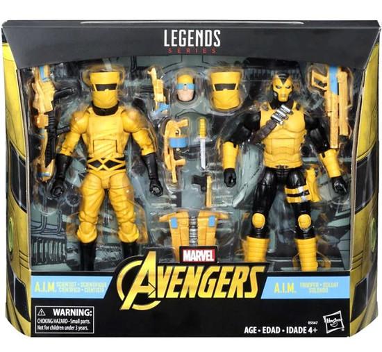 Marvel Legends A.I.M. Trooper & A.I.M. Scientist Action Figure 2-Pack