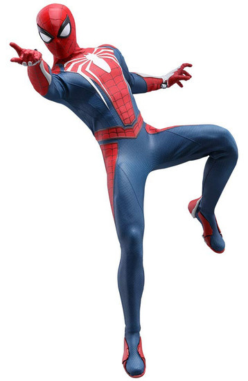 Marvel Video Game Masterpiece Spider-Man Collectible Figure [Advanced Suit]