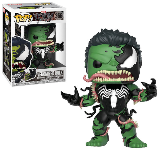 Funko POP! Marvel Venomized Hulk Vinyl Bobble Head #366