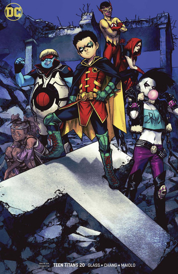 DC Teen Titans #20 Comic Book [Variant]