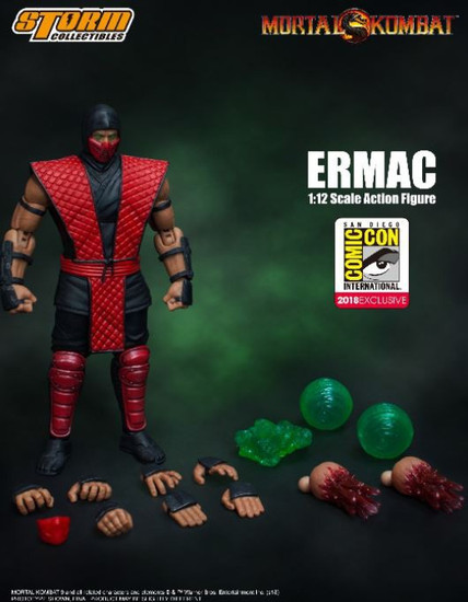 Mortal Kombat Ermac Exclusive Action Figure