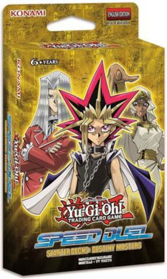 YuGiOh Trading Card Game Speed Duel Destiny Masters Starter Deck