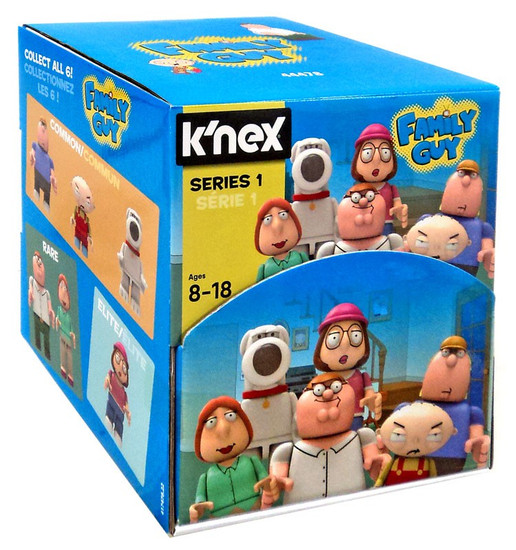 K'NEX Family Guy Series 1 Mystery Box [48 Packs]