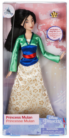 Disney Princess Classic Princess Mulan Exclusive 11.5-Inch Doll [with Ring]