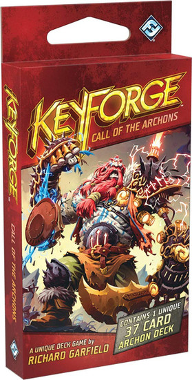 KeyForge Unique Deck Game Call of the Archons Archon Deck KF02a [1st Printing]