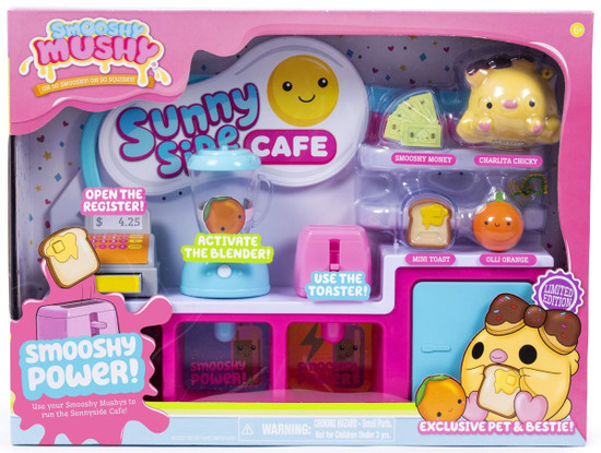Smooshy Mushy Sunny Side Cafe Playset [Smooshy Power!]