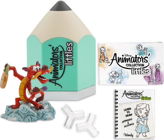 Disney Littles Animators' Collection Series 6 Exclusive Mystery Pack [Teal]