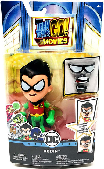 Teen Titans Go! Movie Face-Swappers Robin Action Figure [Movie]