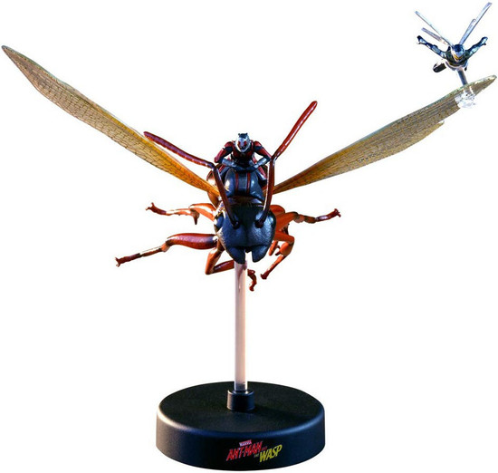 Marvel Ant-Man and the Wasp Movie Masterpiece Compact Series Ant-Man & Wasp 4-Inch Diorama