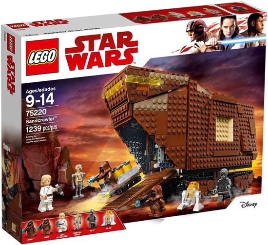 LEGO Star Wars A New Hope Sandcrawler Set #75220